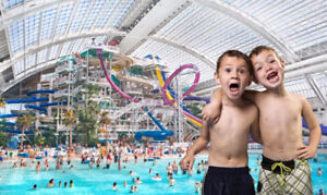 All day pass Galaxyland/Waterpark West Ed Mall