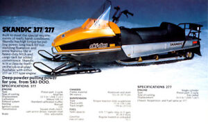 two snowmobile package deal