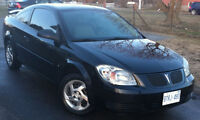2007 Pontiac G5 Coupe Safetied and with 4 winter tires and rims