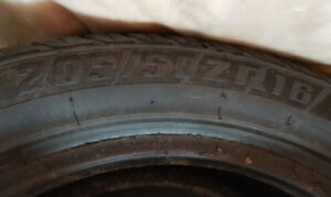 205/50/16 Summer Tires and Dummy