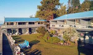 Ocean Front Rentals in Qualicum Beach starting at $900!