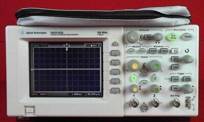 Hp - Agilent - Keysight Dso3102a 100 Mhz Oscilloscope