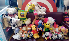 Joblot Of New tagged Teddies and plushies