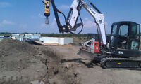 helical screw piles supply/install