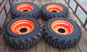 Bobcat Cat Case Tires& Rims @ MASTERSTIRE 647-643-8473