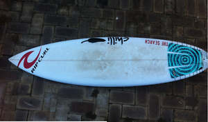 Surfboard Chilli Oh One  5  10 1/2   x 18  1/2 x 2  1/4   25.3 L Bicton Melville Area Preview