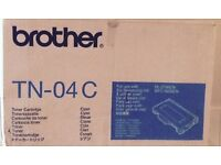 Brother new cartridge cyan