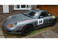 Porsche 986 road legal race or track car boxster swap px