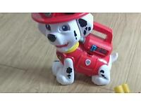 Paw patrol Marshall alphabet learning