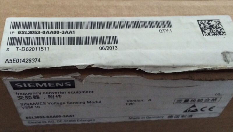 1pc New Siemens 6sl3053-0aa00-3aa1