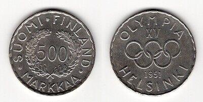 FINNLAND   500 Markkaa 1951   selten!