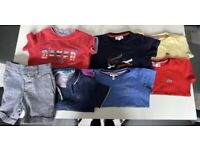 Lacoste and Ted baker T-shirt and shorts