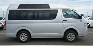 2005 Toyota 4WD Hiace, high roof, panoramic windows, Turbo Diesel AUTOMATIC. Low (ish) kms. Yorklea Richmond Valley Preview