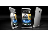 HTC ONE M7 32GB SILVER Refurbed Looks and Feels Brand New