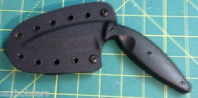 KaBar TDI Knife Sheath Large LEO Models 1482 and 1483 SSX Custom Kydex Solutions