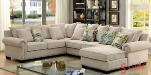 Brand New Custom Size Sectionals From Factory