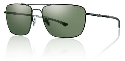 Smith Optics Nomad Sunglasses Matte Black Frame Chromapop Polarized Lens