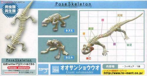 Japan Pose Skeleton Pose skeleton amphibians giant salamander with joints 1/18