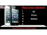 iPhone Repairs 5 5s iPhone 6 6s SE Phone 7 plus 8 screen repair / replacement in Edinburgh