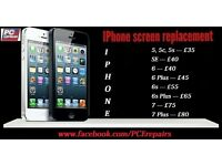 iPhone Repairs 5 5s iPhone 6 6s Phone 7 plus 8 screen repair / replacement in Edinburgh