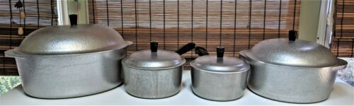 Vintage Club Hammered Aluminum Pots and Pans