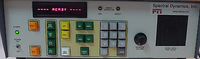 Spectral Dynamics Model 4501a Pind Tester With Shaker