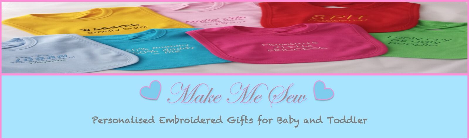 Make Me Sew Personalised Gifts