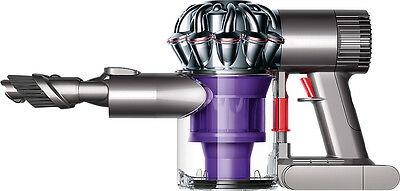 Dyson - V6 Trigger Bagless Cordless Handheld Vacuum - Nickel/Purple