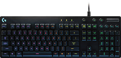 Logitech   Rgb G810 Orion Spectrum Gaming Keyboard   Black