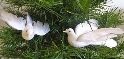 White Dove 6 inch Flying per THREE for Christmas, Weddings, Church Decoration