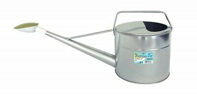 Watering Can Pot Galvanized Iron Metal 6L Sprinkling Sprinkler Made In Japan EMS