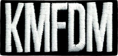 Patch KMFDM German Rock Band Industrial Electronic Political Music Iron On #9420