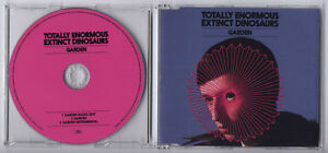 TOTALLY ENORMOUS EXTINCT DINOSAURS Garden UK 3-trk promo CD inc instrumental