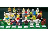 Selection of Genuine LEGO Mini Figures from £2 each