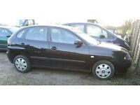 BREAKING SEAT IBIZA 2003 53 1.2 BLACK 5DR MOST PARTS AVAILABLE 100k MILES