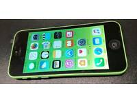 iPhone 5C GREEN 8GB EE T-Mobile Virgin networks SHOP WARRANTY