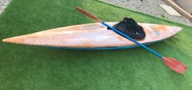 Kayak and accessories included in pictures