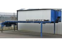 Plant Flatbed Demountable Body 2.5x7.3m (Bed 6.05), Aluminium Ramps, Hydraulic Winch