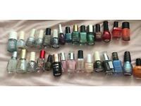 Job lot 30 nail polishes various brands