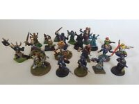Assorted Warhammer Models - job lots, painted, old style, conversions, includes white dwarf!!