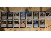 Magic the Gathering deckmaster cards
