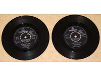 "2 x Beatles 7"" singles"