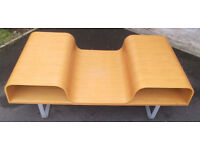 Funky Retro Ikea Wooden Occasional Living Room Magazine Table
