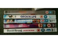 5 comedy dvds
