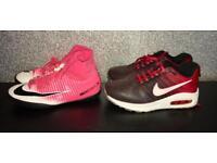 Boys Nike Trainers UK 4/4.5 Air Max / Mercurial