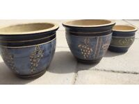 Set of Ceramic Pots