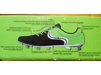 Sondico Touch SG Mens Football Boots Size 8.5/42.5 Brand new
