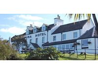 GENERAL ASSISTANT & BAR PERSON REQUIRED FOR IMMEDIATE START AT IDYLLIC ISLAND HOTEL. LIVE IN.