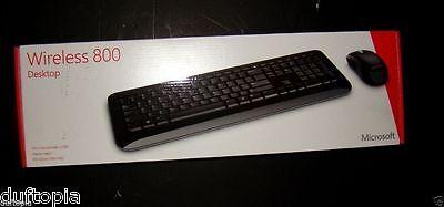 Microsoft Wireless 800 Desktop Keyboard & Mouse (Microsoft Wireless Desktop 800)