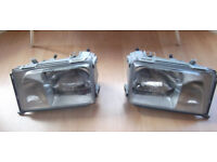 NEW & BOXED Mercedes Benz E Class W124 (93-95) Headlights Left Hand Drive